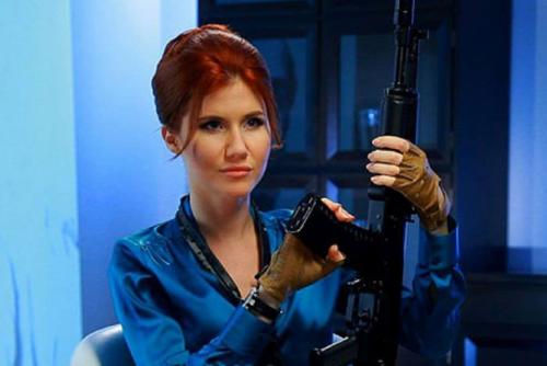 Nữ điệp viên Anna Chapman. Ảnh: ABC.