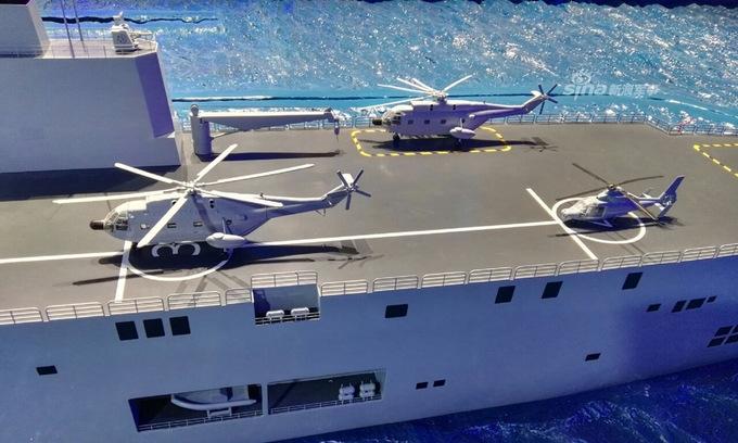 Diện mạo cụm tàu đổ bộ viễn chinh tương lai của Trung Quốc