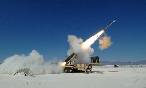 PAC-3 được tối ưu để đánh chặn tên lửa đạn đạo. Ảnh:Lockheed Martin.