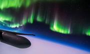 Hình ảnh cực quang được phi công do thám Mỹ chụp từ rìa vũ trụ