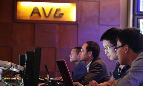 AVG là thương hiệu truyền hình tham gia vào thị trường truyền hình trả tiền cuối năm 2011. Ảnh minh họa: P.V