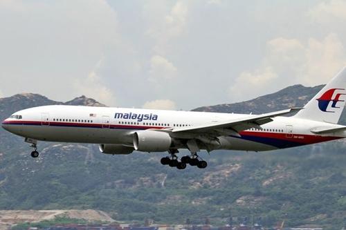 Máy bay Boeing 777 của Malaysia Airlines, tương tự chiếc thuộc chuyến MH370 mất tích. Ảnh:
