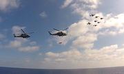 Mỹ khoe màn phô diễn sức mạnh của không đoàn tàu sân bay