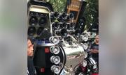 Dân chơi Philippines độ dàn âm thanh 'khủng' cho sidecar