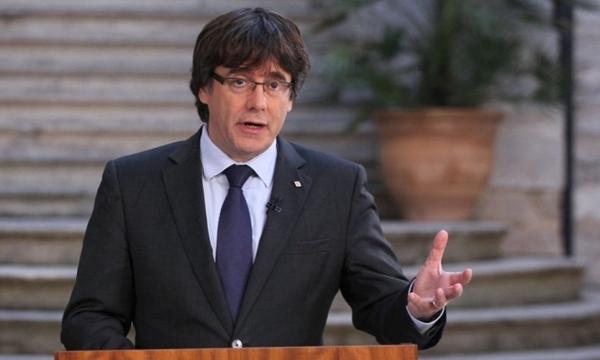 Cựu thủ hiến Catalonia Carles Puig