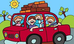 Bài toán đi du lịch bằng ôtô của học sinh lớp 4