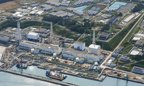 Ảnh chụp nhà máy điện hạt nhânFukushima Daiichi năm 2013. Ảnh:CTV News.