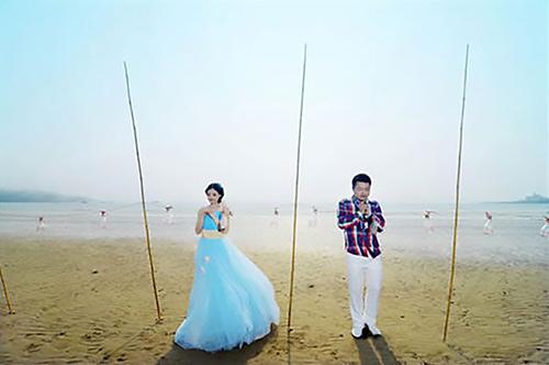 Xu và Ye kết hôn đã 5 năm và có hai con gái. Ảnh:Asia Wire