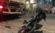 Tài xế ôtô húc 6 xe máy ở Sài Gòn bị bắt