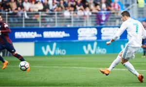 Eibar 1-2 Real Madrid