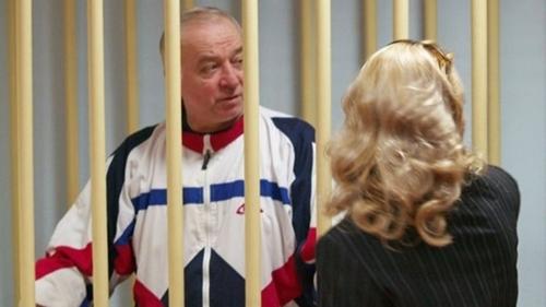 Sergei Skripal trong phiên tòa tại Moscow năm 2006. Ảnh:Reuters.
