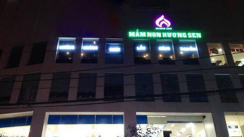 Tòa nhà nơi xảy ra vu việc. Ảnh:Việt Linh.
