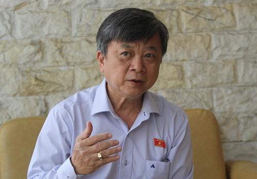 Đại biểu Quốc hội TP HCM Trương Trọng Nghĩa. Ảnh: CTV