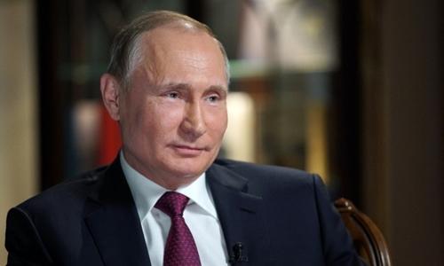 Tổng thống Nga Putin. Ảnh:AFP.
