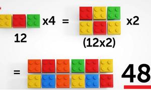 Cách dạy con học Toán bằng lego