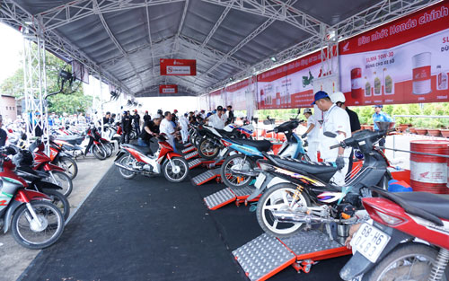 Honda - Trọn niềm tinđến với khách hàng các tỉnh phía Bắc từ ngày 10/3.