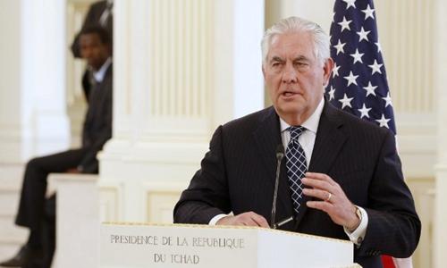Ngoại trưởng Mỹ Rex Tillerson. Ảnh: AFP.