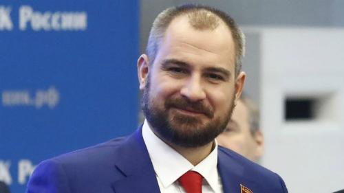 Maxim Suraikin,ứng viên của đảng Cộng sản Nga. Ảnh: Reuters.