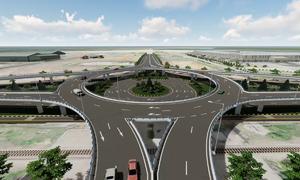 Nút giao thông 2 tầng ở Quảng Nam hoàn thành trong năm
