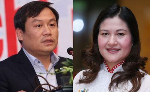 Phó chủ tịch UBND tỉnh Hà Nam Vũ Đại Thắng và Phó bí thư tỉnh uỷ Bắc Ninh Nguyễn Thị Hà được Thủ tướng bổ nhiệm làm Thứ trưởng Kế hoạch Đầu tư, Lao động Thương binh Xã hội.