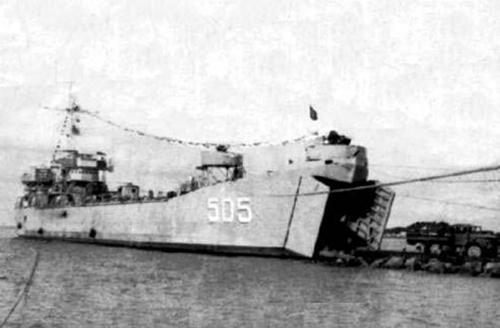Tàu HQ 505. Ảnh tư liệu của QĐND.