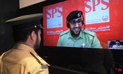 Đồn cảnh sát tự động không bóng giới chức ở Dubai