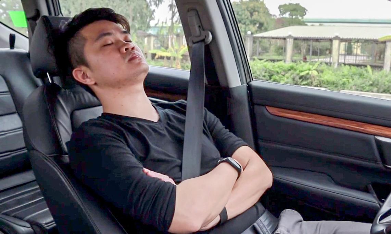 Những lưu ý sống còn khi ngủ trong ôtô cho tài xế Việt - VnExpress