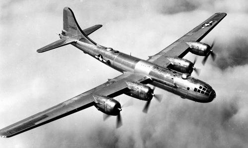 Oanh tạc cơ B-29 được dùng trong chiến dịch Meetinghouse. Ảnh: USAF.