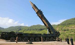 Triều Tiên bị nghi dựng tượng đài tại bãi phóng tên lửa xuyên lục địa