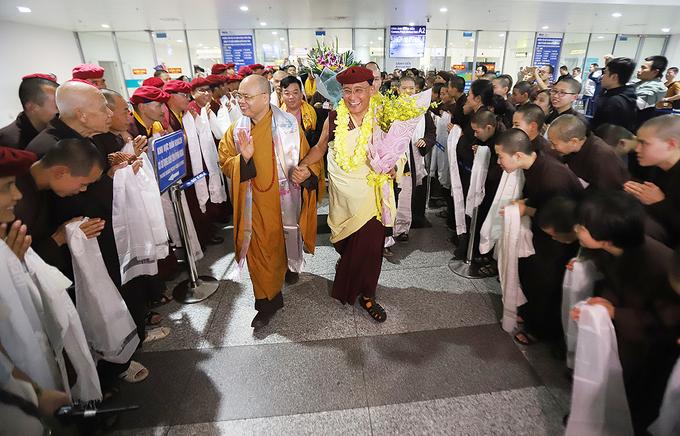 Đức Gyalwang Drukpa trở lại Việt Nam
