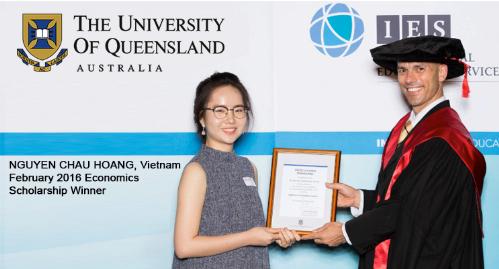 Giao lưu và nộp hồ sơ du học trực tiếp vào Đại học Queensland - 1