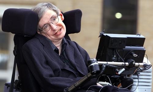 Stephen Hawking được mệnh danh là ông hoàng vật lý. Ảnh: Guardian.