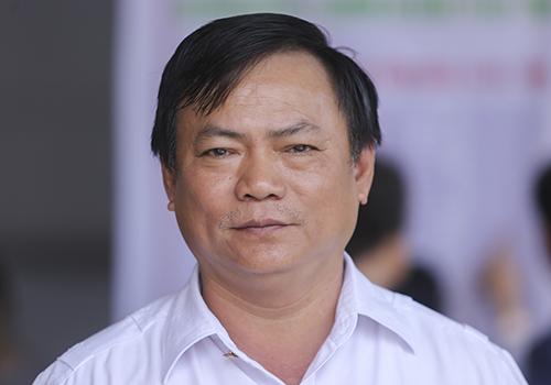 Cựu binh Nguyễn Văn Tấn là người đã kết nối nhiều cuộc gặp gỡ, tưởng niệm 64 liệt sĩ Gạc Ma. Ảnh: Nguyễn Đông.