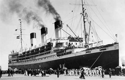Tàu Cap Arcona của Đức. Ảnh: History.