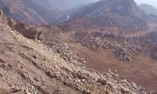 Núi Yuquan với gần 200 mỏ hoang phế ở thời điểm 2009. Ảnh: CGTN.