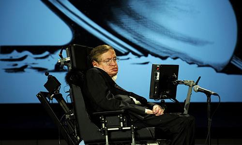 Phần mềm hỗ trợ Stephen Hawking giao tiếp. Ảnh: Business Insider.