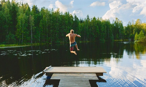 HồVuohijärvi ở Phần Lan. Ảnh: Alamy.