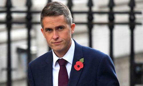 Bộ trưởng Quốc phòng Anh Gavin Williamson. Ảnh: Sky News.