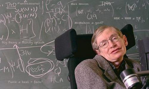 Phần lớn những công trình nổi bật của giáo sư Hawking đều mang tính lý thuyết. Ảnh: Wikipedia.