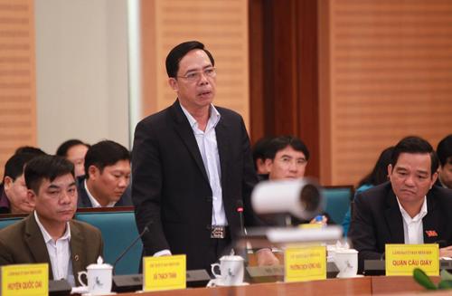 Chủ tịch UBND phường Dịch Vọng Hậu Nguyễn Quang Thắng. Ảnh: Đức Hùng.