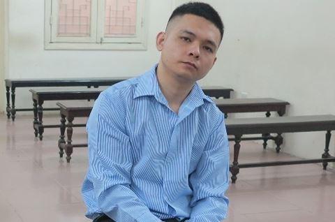 Bị cáo Chung tại tòa Hà Nội.