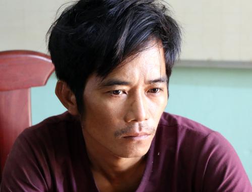 Nghi can Hưng đang bị tạm giữ để điều tra về hành vi Giết người. Ảnh: Văn Trăm.