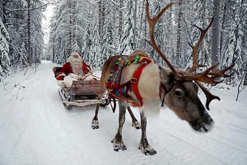 Vùng Lapland, Phần Lan, là quê hương của ông già Noel. Ảnh: Reuters