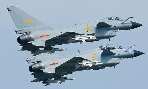 Các tiêm kích J-10 của không quân Trung Quốc. Ảnh: Military.