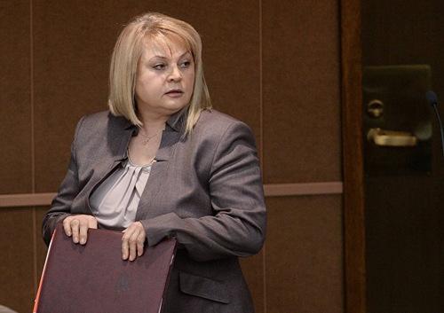 Chủ tịch Ủy ban Bầu cử Trung ương Nga Ella Pamfilova. Ảnh: Sputnik.