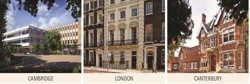 CATS College có ba cơ sở tại các thành phố lớn của Anh quốc.