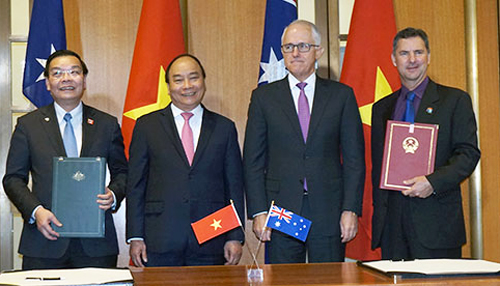 Việt Nam kỳ hợp tác vớiTrung tâm nghiên cứu khoa học và công nghiệp Australia (CSIRO).