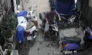 Gần Tết, hai thanh niên vào khu nhà tập thá» trá»m xe máy