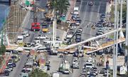 Sập cầu đi bộ 14 triệu đô mới khánh thành tại Mỹ, 4 người chết