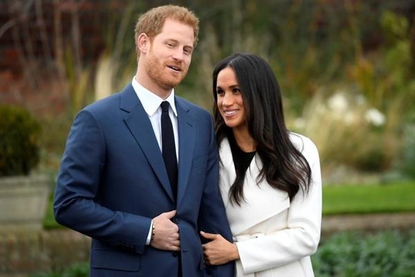 Hoàng tử Harry và Meghan Markle. Ảnh: Reuters.